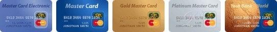 Оплата по кредитным картам MasterCard